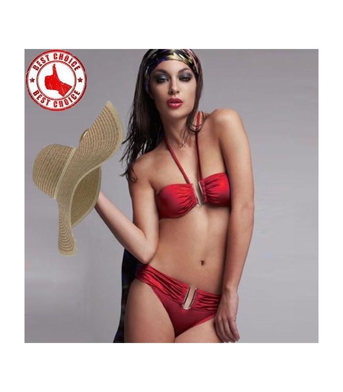 Costume da bagno sexy rosso caldo costumi da bagno - Costumi da bagno oversize ...