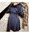 Elegant sapphire dress