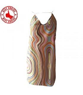 Rainbow color dress