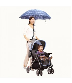 Adjustable baby stroller holder umbrella