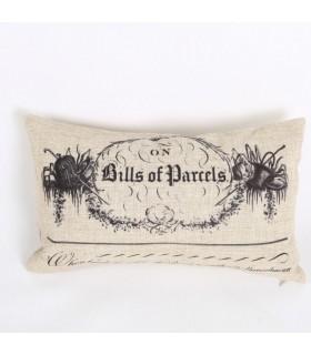 Copertura del cuscino di lino vintage