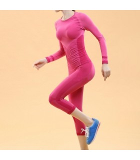 Body shaper sport suit