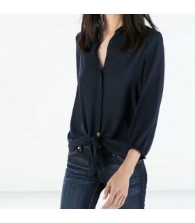 Blue spring shirt