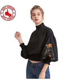 Vintage camicia floreale stampato