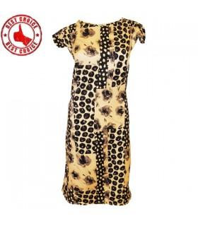 Weiches Textilbleistiftkleid