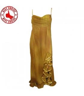 Goldenen Abend sexy Kleid