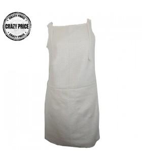 Wolle Elfenbein Pariser Kleid