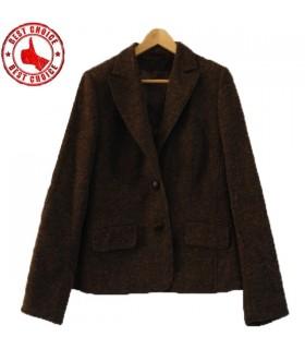 Abito di lana marrone
