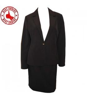 Frauen elegante Burgunder Anzug