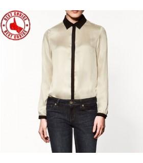Carino camicia beige