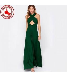 6 in 1 wunderschöne Chiffon Kleid