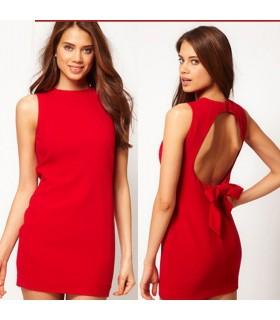 Mini-robe chic et Rouge
