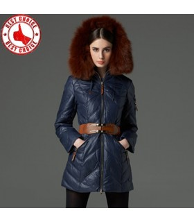 Quality down jacket with collar fur