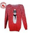 Red maglione invernale