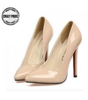 Moderne beige Schuhe