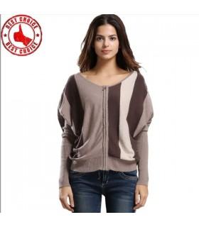 Pull tricoté surdimensionné