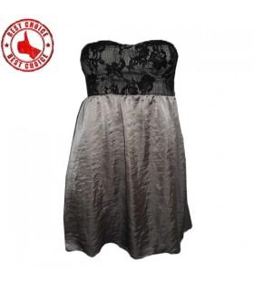 Satin schickes Kleid