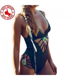 One piece sexy hollow out swimsuit