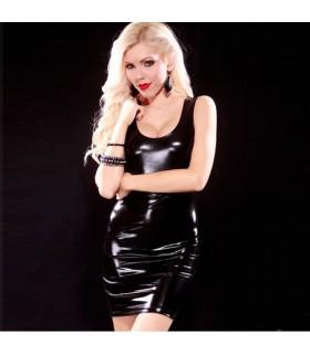 Enges sexy schwarzes Kleid