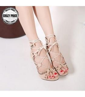 Sandali di colore pastello