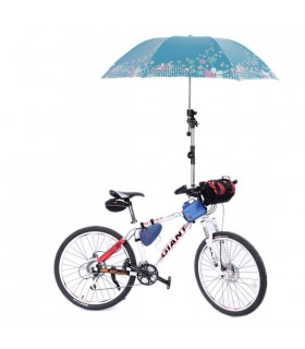 Umbrella stands connector holder bike umbrella