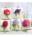 Spring flower linen five cover pillow