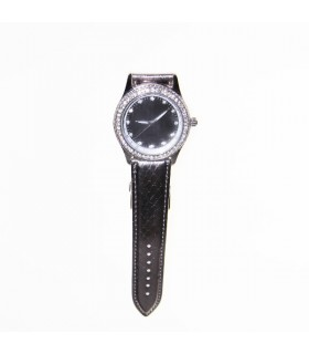 Crystal embellished watch