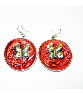 Recycle fashion earrings