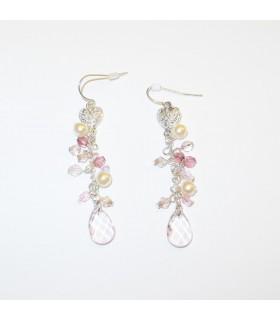 Summer pink breeze earrings