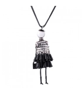 Lovely Dress Doll Necklaces