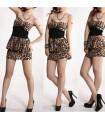 Sexy leoparden Kleid