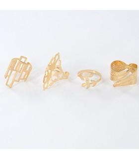 Set anello geometrico