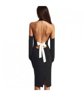 Sexy au large de la robe de l'épaule