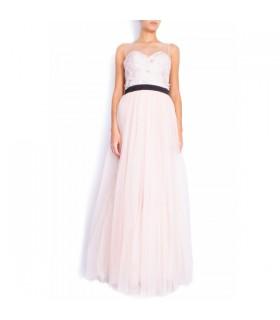 Spitze und Tüll Organza Kleid
