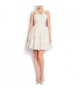 Spitze und Tüll Kleid