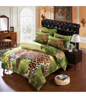 Dschungelleopard Bettwäsche
