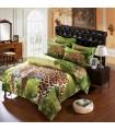 Les draps de lit de léopard Jungle