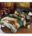 Les draps de lit Jungle lion