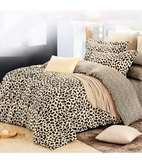 Fogli Leopard letto