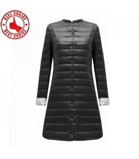 Long manteau mince