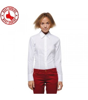 Classic white long sleeves shirt