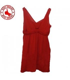 Vestito rosso puro