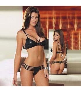 Sexy schwarzer Bikini