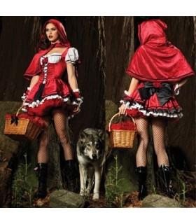 Costume sexy rosso