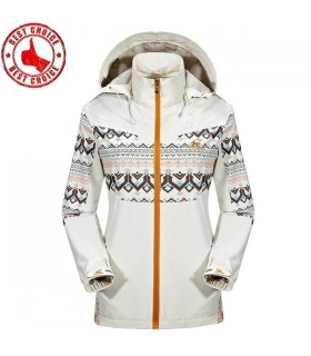 Softshell sport fleece outdoor vintage design jacket