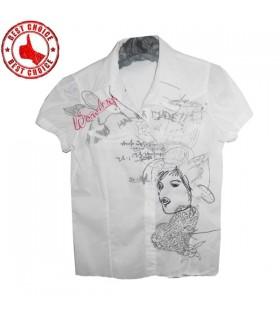 Desiguales weißes Hemd