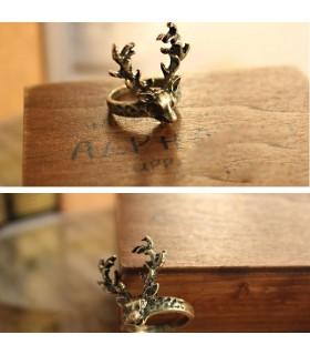 Vintage deer ring