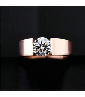 Vergoldeter klassischer Ring