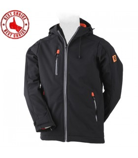 Unisex 4 layers quality softshell