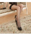 Fiore stockings black hold up